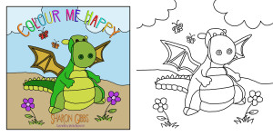 Colour Me Happy by Sharon Gibbs and Worlds Beyond Art