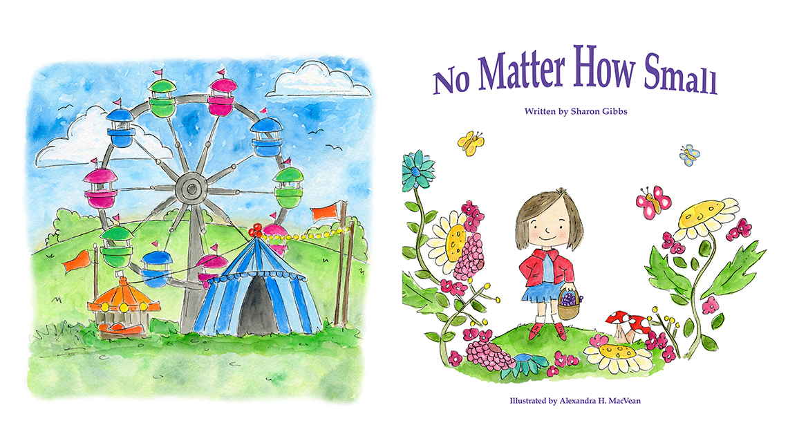 No Matter How Small by Sharon Gibbs and Alexandra H MacVean